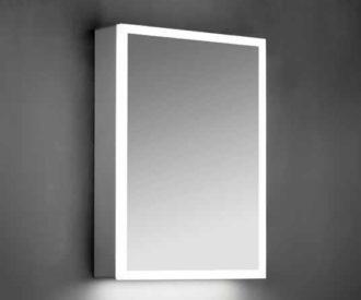 Maya LED Mirrored Cabinet -0