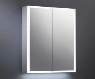 Maya LED Mirrored Cabinet -3912