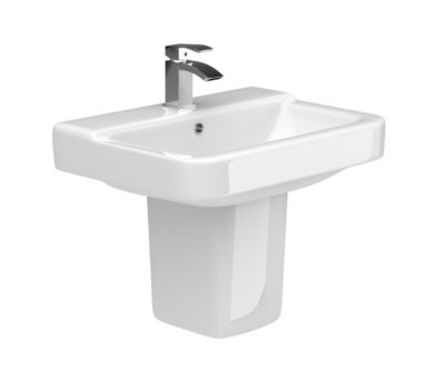 Rio 550 Basin & Semi Pedestal-0