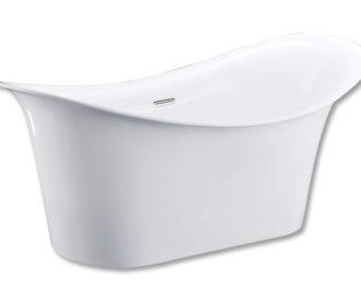 Wave Freestanding Acrylic Bath-0