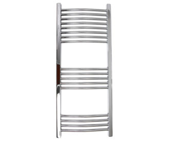 Silea Curved 22mm Bars Heated Towel Rail-0