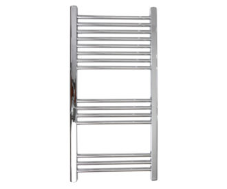 Silea Straight 22mm Bars Heated Towel Rail-0