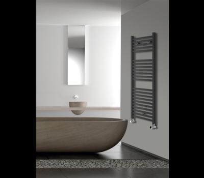 Todi Anthracite Towel Rail-0