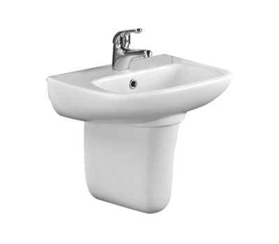 Rio Short Projection 450 Cloakroom Basin-0