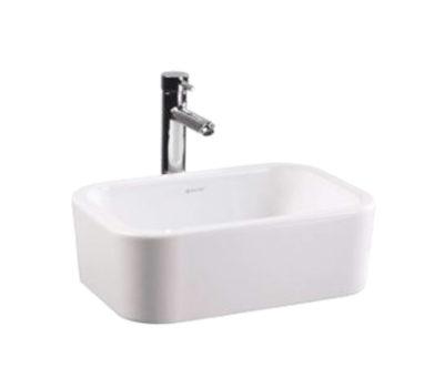 Rectangular 490 Freestanding Basin-0