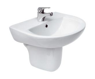 Arteca 500 Basin & Semi Pedestal-0