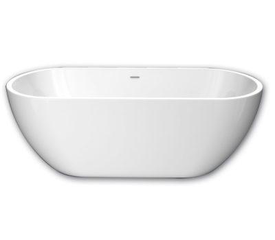 Bay Freestanding Acrylic Bath & Click Clack Waste (1500 & 1700mm)-0