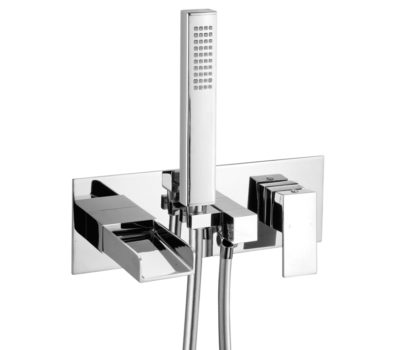 Escape Wall Mounted Bath Shower Mixer -0