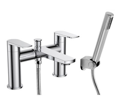 Glide Bath Shower Mixer and Kit -0
