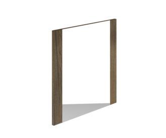 Kensington 600 x 600mm Mirror Gladstone Oak -0