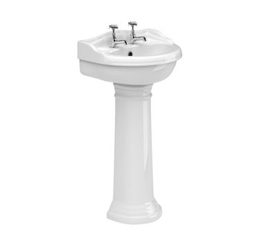 Kent 500mm Basin & Pedestal -0