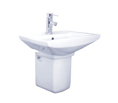 Murcia 510mm Basin & Semi-Pedestal -0