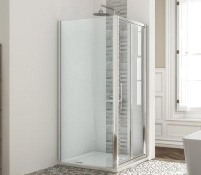 Bi-Fold Shower Door (760-1000mm)-0