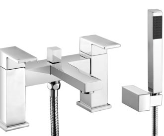 Quadro Bath Shower Mixer & Kit -0