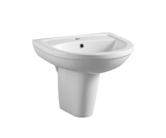 Refine 450mm Basin & Semi - Pedestal-0