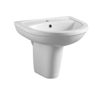 Refine 500mm Basin & Semi Pedestal-0