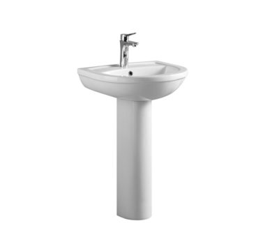 Refine 550mm Basin & Pedestal -0