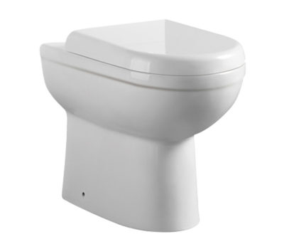 Refine Back to Wall Toilet Pan & Soft Close Seat -0