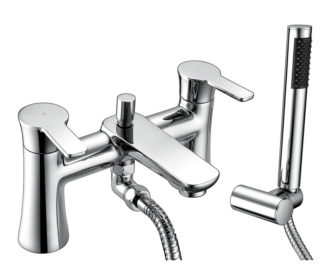 Revolve Bath Shower Mixer & Kit -0