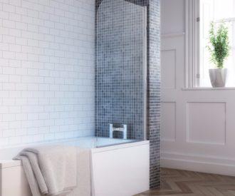 Round Single Bath Screen -0