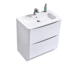 Sofia 600 Unit White Floor Gloss White-0