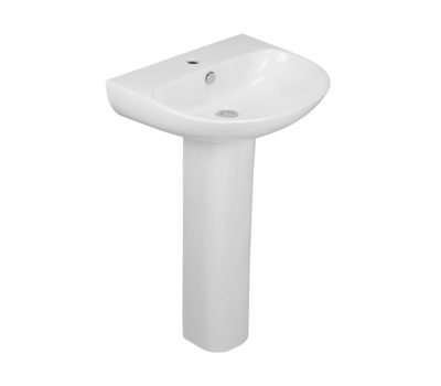 Source 550mm Basin & Pedestal -0