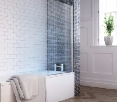Square Single Bath Screen -0