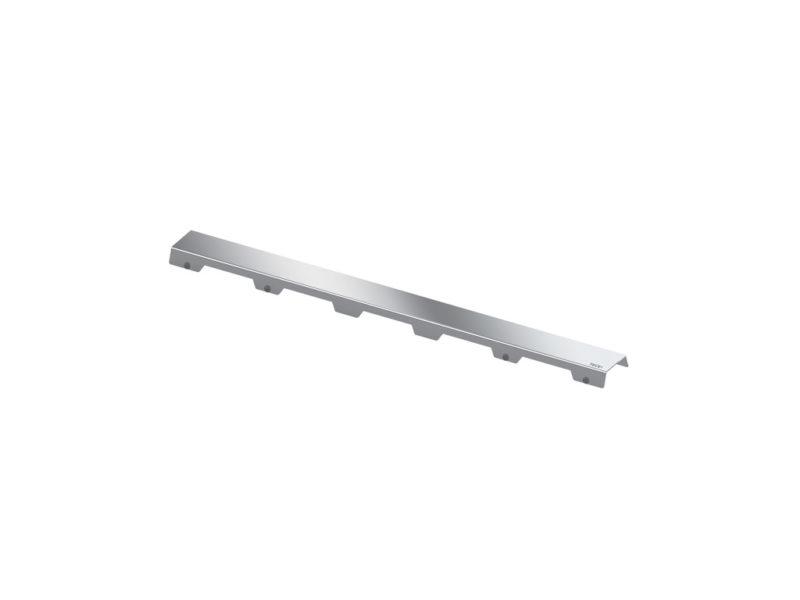 "Tece Drainline 700mm Design Grate Brush SS ""Steel II"" Shower Channel-0"