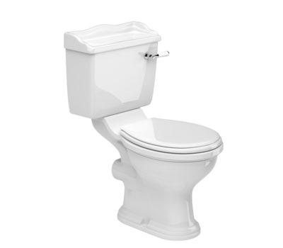 Kent Open Back Toilet Pan, Cistern Inc. Fittings & Soft Close Seat-0