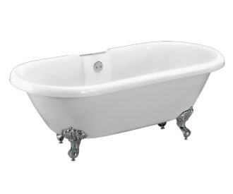 Traditional Dual Freestanding Acrylic Bath -0