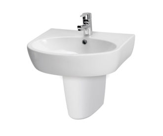 Urban Harmony 550mm Basin & Semi Pedestal -0