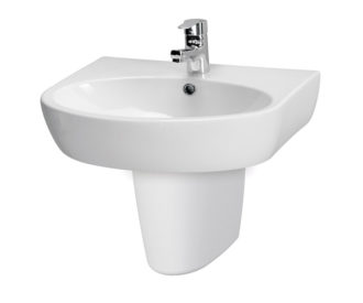 Urban Harmony 600mm Basin & Semi Pedestal -0
