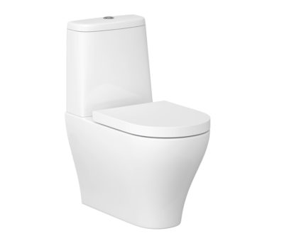Urban Harmony CLEAN ON Fully Back to Wall Toilet Pan, Cistern Inc. Fittings & Soft Close Seat-0