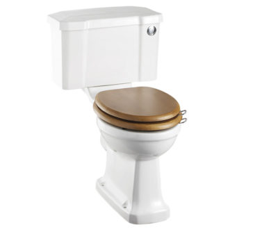 Regal Close Coupled Pan with 520 Push Button Cistern-0