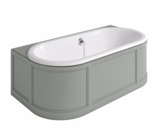 London Bath Olive with Curved Surround (2 Styles Available)-0