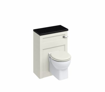 60 Wall Hung WC Unit with Lever Flush Cistern WC Unit Sand-0