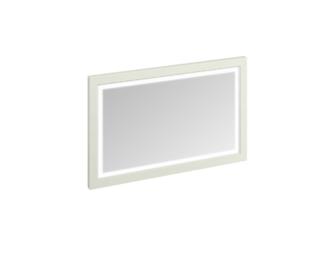 Framed 120 Mirror with LED Illumination (Sand, Olive, White) -0