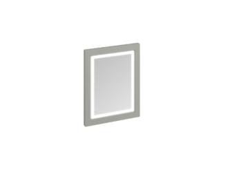 Framed 60 Mirror with LED Illumination (Sand, Olive, White)-3889