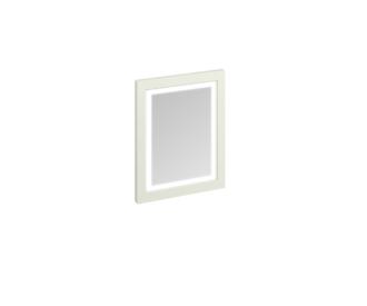 Framed 60 Mirror with LED Illumination (Sand, Olive, White)-0
