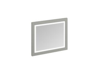 Framed 90 Mirror with LED Illumination (Sand, Olive, White)-3897