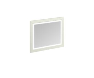 Framed 90 Mirror with LED Illumination (Sand, Olive, White)-0