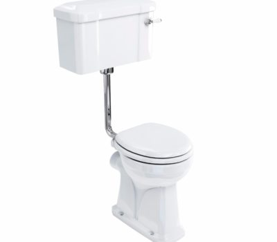 Regal Low Level Pan, Cistern & Flush Pipe-0