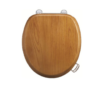 Wooden Oak Toilet Seat -0