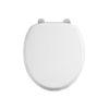 Carbamide White Toilet Seat -0