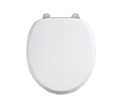 Carbamide White Toilet Seat -0