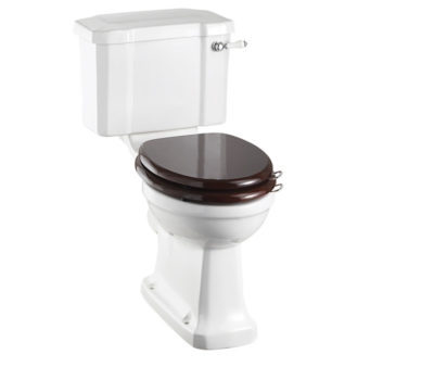Standard Close Coupled Pan with 440 Push Button Cistern-0
