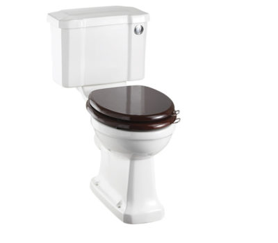 Standard Close - Coupled Pan With Slimline Push Button Cistern-0