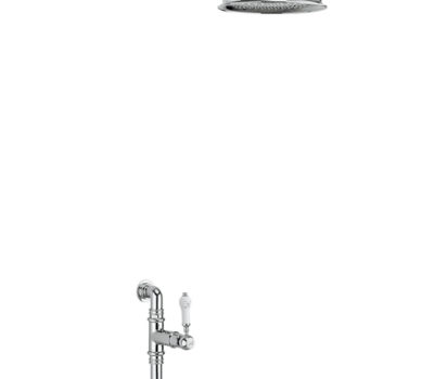 Stour Thermostatic Exposed Shower Valve Single Outlet -0