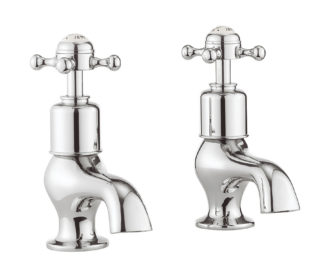 Belgravia Crosshead Bath Pillar Taps -0