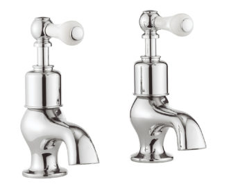 Belgravia Lever Bath Pillar Taps-0